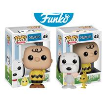Snoopy Y Charlie Brown Funko Pop Serie Peanuts