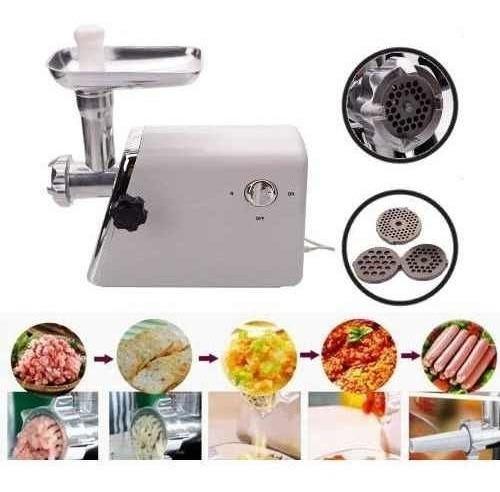 Molino De Carne Electrico Moledor Moler Chorizo Longaniza En
