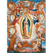 Lienzo Tela Virgen De Guadalupe 1779 69 X 50 Cm Arte Sacro
