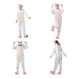 Pijama Kawaii Cuerpo Entero Kigurumi Coneja Cosplay