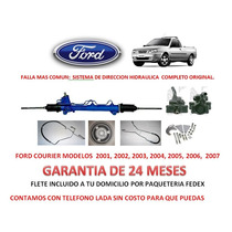 Sistema Kit Direccion Hidraulica Completo Ford Courier Sp0