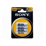 Pilas Baterias Sony Aaa Blister 4 Pzas 1.5v Ultra Heavy Duty