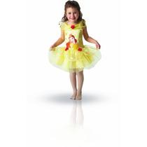 Bailarina De Vestuario - Belle Pequeño Niños Disney Princess