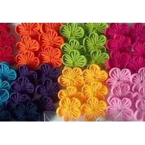 Flores De Tela De Colores