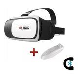 Vr Box Lentes 3d Realidad Virtual V 2.0 + Control Bluetooth