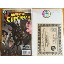 The Adventures Of Superman #627 Autografiado Por Nelson
