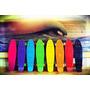 Patineta Penny Retro Luces Led 6 Colores En Stock