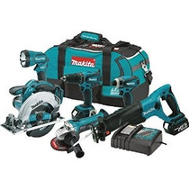 Makita Xt601 Litio-ion Lxt 18 Voltios Inalámbrico Combo Kit