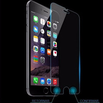 Vidrio Genérico Para Iphone 6 6s 6s Plus Smart Boton Back Me