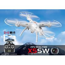 Drone X5ws Syma Wifi Visión En Vivo Desde Tu Celular