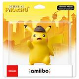 Figura Amiibo Detective Pikachu 4.5  Pokemon Series Nintendo
