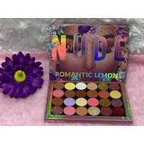 Paleta De Sombras Nude Romantic 24 Tonos