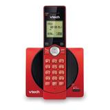Teléfono Inalámbrico Vtech Cs6919 Rojo