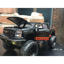 Camioneta Chevi Silverado Scale 1/24 De Collection Mol 2014