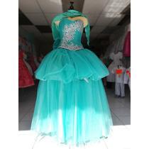 c2ca83f66 Vestido De Xv Años Color Verde Menta Azul Turquesa Vino en venta en ...
