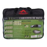 Funda Cubierta De Auto Lona De Aluminio Afelpada Large