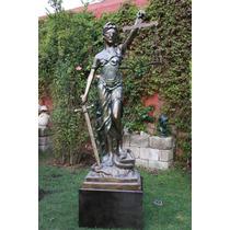 Escultura Monumental Diosa Themis O Justicia