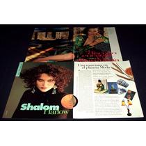 Shalom Harlow Lote De Coleccion De Recortes De Revistas