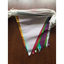 Banderín De Polietileno Multicolor Tira 50 Mts.