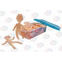 Muñeca Didáctica Articulada Plástico 30 Pzas 22cm De Eduplas