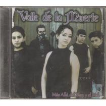 Valle De La Muerte - Mas Allá... - Metal Gotico Cd Rock Dark