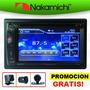 Autoestereo T�ctil Dvd Cd Bluetooth Usb + Camara De Revera