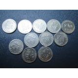 Monedas 5 Centavos 1992 A 2002 Serie Completa