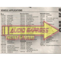 Base Frente Estereo Oldsmobile Tornado 1982 A 1994