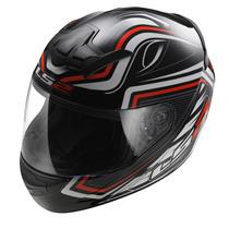 Casco Moto Integral Ls2 Ff352 Rookie Ranger Ngo/rojo Talla M