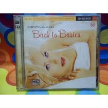 Christina Aguilera Cd Back To Basics ,2cds, 2006, Libro