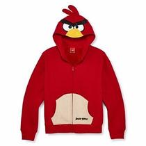 Sudadera Hoodie Angry Birds 6, 8 Ó 10 Años Original Entrega