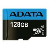 Tarjeta De Memoria Adata Ausdx128guicl10 85-ra1 Premier Con Adaptador Sd 128gb