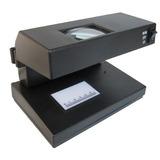 Detector Billete Falso Con Lupa 3x Led Y Uv 9 W