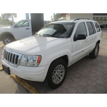 Jeep Grand Cherokee Ltd 4x4, Aut, Color Blanco, Modelo 2004