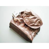 df4146ea04b26 Mochila Kipling Grande Dorada Nueva Y Original De Tienda! en venta ...