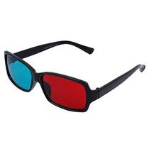 Marco De Plástico Rojo-cian Gafas 3d Película 3d Dimensional