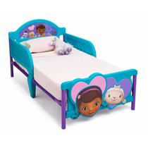 Cama Camita Infantil 3d Niña Doctora Juguetes Doc Mcstuffins