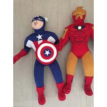 Peluche Capitan América Marvel Comic Civil War Avengers