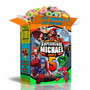 Kit Imprimible Escuadron Super Heroes Con 3 Invitaciones