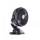 Mini Ventilador Clip Usb Portatil Recargable 360° Ajustable