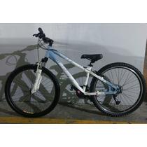 Bicicleta Alubike Dragonfly 2000 Mujer Rodada24 Bici Montaña