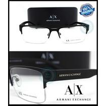 Armazon Oftalmico Ranurado Armani Exchange Ax1014-6063 Negro