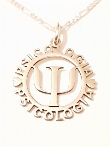4333b1ba6061 Collar Y Dije De Psicologia De Plata 925 Envio Gratis en venta en ...