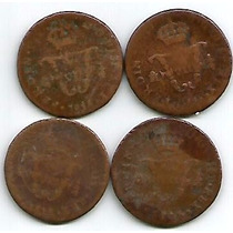 4 Monedas Coloniales Fer 7o