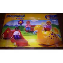 Playmobil Set De Area De Juegos En Parque
