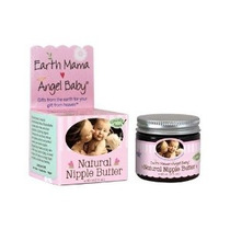 Tierra Mama Angel Baby Nipple Natural Mantequilla 2-oz Jar X