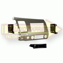 Base Frente Adaptador Estereo Honda Civic 2006 Taupe 997871t
