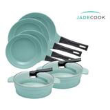 Baterías De Cocina Jade Cook 2 Juegos  - 8 Piezas
