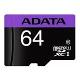Tarjeta De Memoria Adata Ausdx64guicl10-ra1 Premier 64gb