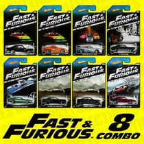Hot Wheels Fast & Furious Rápido Y Furioso Colección 2014